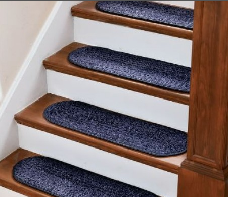 Carpet Stair Treads Provide The Needed